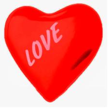 Солевая грелка Сердце